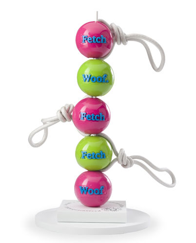 Planet Dog Orbe-Tuff  Fetch Ball mit Seil