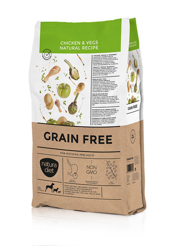 Natura Diet Grain Free Chicken Vegs